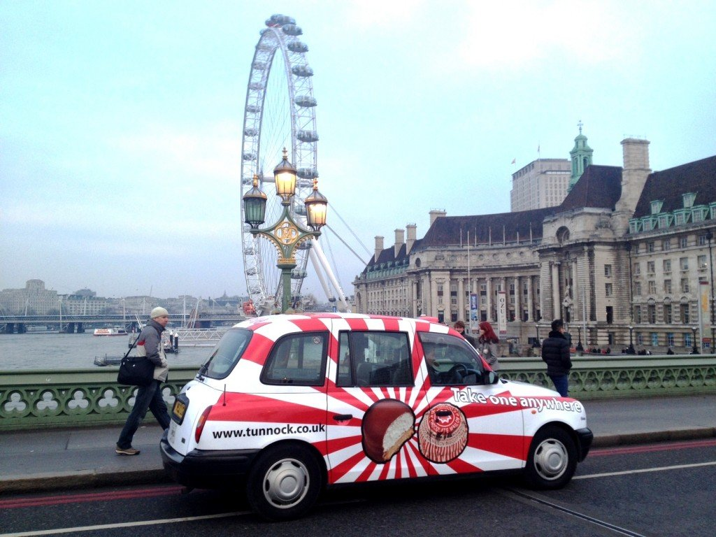 Tunnocks full livery taxi